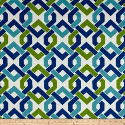 Richloom Indoor/Outdoor Rieser Lagoon Fabric