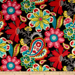 Waverly Sun N Shade Flower Child Spectrum Fabric