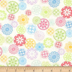 Happy Medallions Multi Fabric