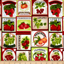 Fresh Harvest Fruit Labels Multi