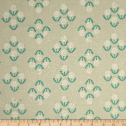 Cotton + Steel Zephyr Puff Teal Fabric