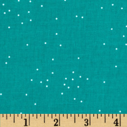 Cotton + Steel Sprinkle Alexa Turquoise Fabric
