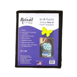 Bosal In-R-Form Sew-In 1 yard Foam Stabilizer Black