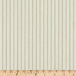Magnolia Home Fashions Berling Ticking Stripe Sand Fabric