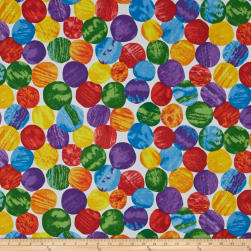 The Very Hungry Caterpillar Giant Dot Multi Fabric