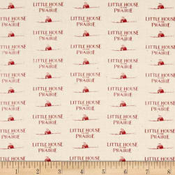Little House On The Prairie Logo Red