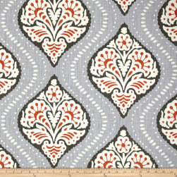 Dwell Studio Kavali Ogee Persimmon Fabric