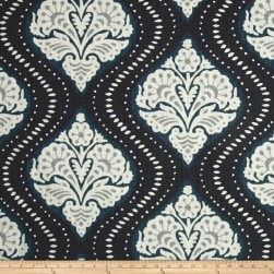 Dwell Studio Kavali Ogee Midnight Fabric