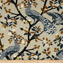 Dwell Studio Plume Redux Midnight Fabric