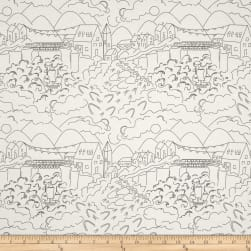 Alison Glass Abacus Village Gray Fabric