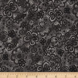 "108"" Wide Quilt Back Isadora Black"