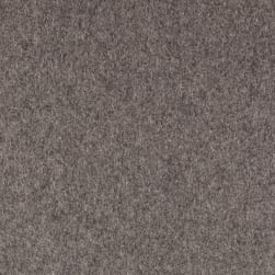 Telio Wool Blend Melton Light Grey Mix Fabric