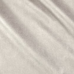 Telio Perfection Fused Faux Leather Metallic Silver Fabric