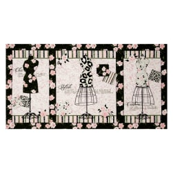 Mademoiselle 23 In. Panel Black