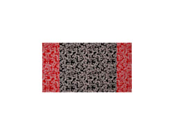 Rendezvous Leaf Border Black/Red