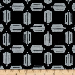 BBC Doctor Who Flannel Logo Toss Grey/Black Fabric