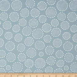 Kaufman Blueberry Park Flower Fog Fabric