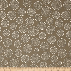 Kaufman Blueberry Park Flower Mushroom Fabric