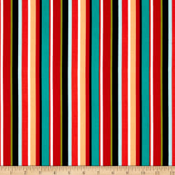 Riley Blake Blackbeard's Stripe Multi Fabric