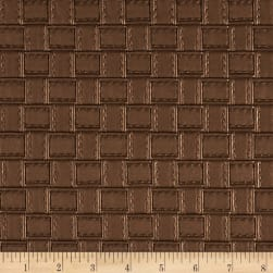 Faux Leather Basketweave Copper Fabric