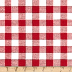 Premier Prints Plaid Lipstick Fabric