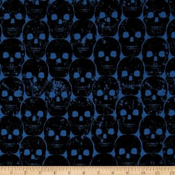 Michael Miller Skulls Out Numb Skull Blue