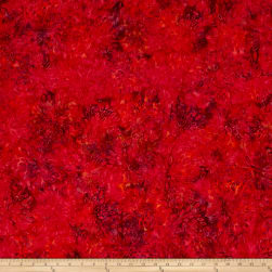 Jinny Beyer Malam Batiks III Burst Red Fabric