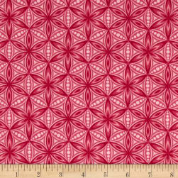 Transformation Flower of Life Pink Fabric