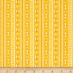 Transformation Stripe Yellow Fabric