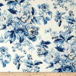 Waverly Fleuretta Bluejay Fabric
