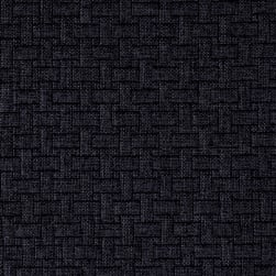 Waverly Upholstery Basketweave Charcoal Fabric
