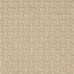 Waverly Upholstery Basketweave Sahara Brown Fabric
