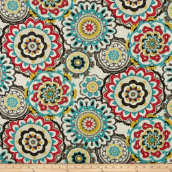 Swavelle/Mill Creek Serna Eye CandyBasketweave Fabric