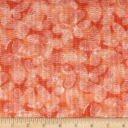 Tutti Fruitti Plisse Orange Fabric