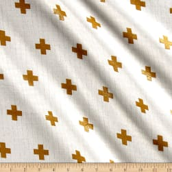 Riley Blake Double Gauze Gold Plus Fabric