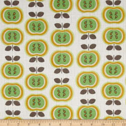 Riley Blake Double Gauze Green Apples Fabric