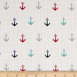 Riley Blake Double Gauze Anchor Multi Fabric
