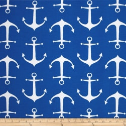 Premier Prints Indoor/Outdoor Sailor Cobalt Fabric