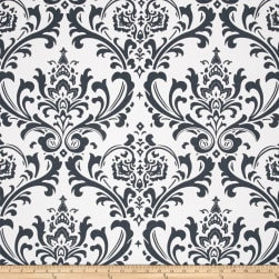 Premier Prints Traditions Twill Gunmetal Fabric