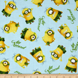 QT Fabrics Minions All Natural Minion Toss Light