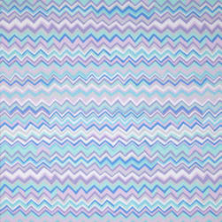Kaffe Fassett Collective Zig Zag Blue