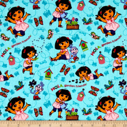 Nickelodeon Dora the Explorer Hola Garden Friends Multi
