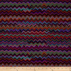 Kaffe Fassett Collective Zig Zag Black Fabric