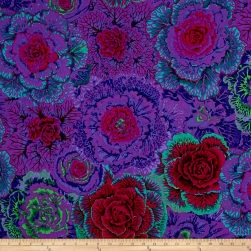 Kaffe Fassett Collective Brassica Purple Fabric