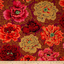 Kaffe Fassett Collective Brocade Peony Autumn Fabric