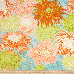 Kaffe Fassett Collective Japanese Chrysanthemum Spring Fabric