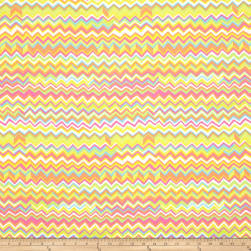 Kaffe Fassett Collective Zig Zag Yellow Fabric