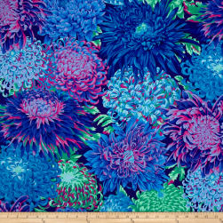 Kaffe Fassett Collective Japanese Chrysanthemum Cotton Fabric