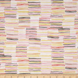 Michael Miller Arrow Flight Metallic Offline Blush Fabric