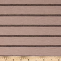 Jersey Knit Stripe Tan